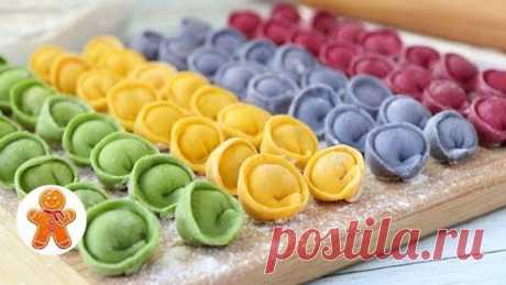 Color Home-made Pelmeni without Dyes