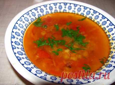 Готовим обед: гороховый суп с томатом