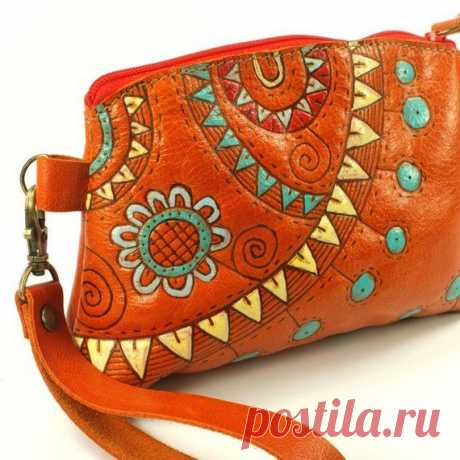 leather purse | Leather Inspirations