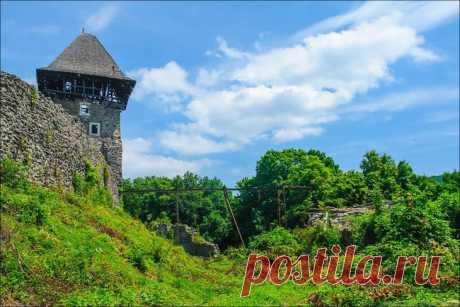 Фотопрогулки. Невицкий замок, Закарпатье