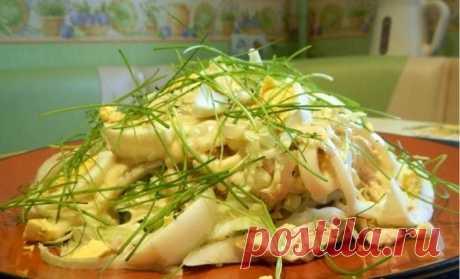 Салат с кальмарами «Самый вкусный» - рецепт с фото / Простые рецепты