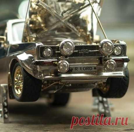 Уникальная модель Ford из серебра, золота и платины | Новостной портал foto-elf: свежие новости России и мира Форд из серебра и золота