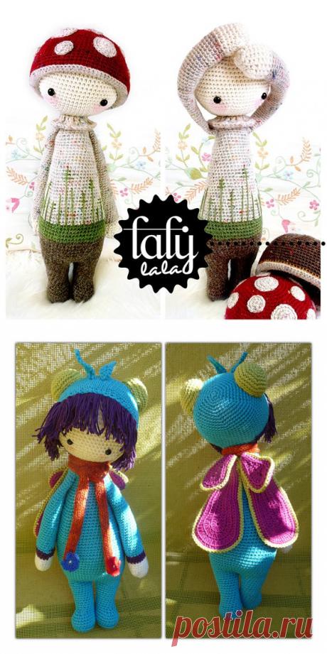 Милые куколки, связанные крючком — Делаем руками