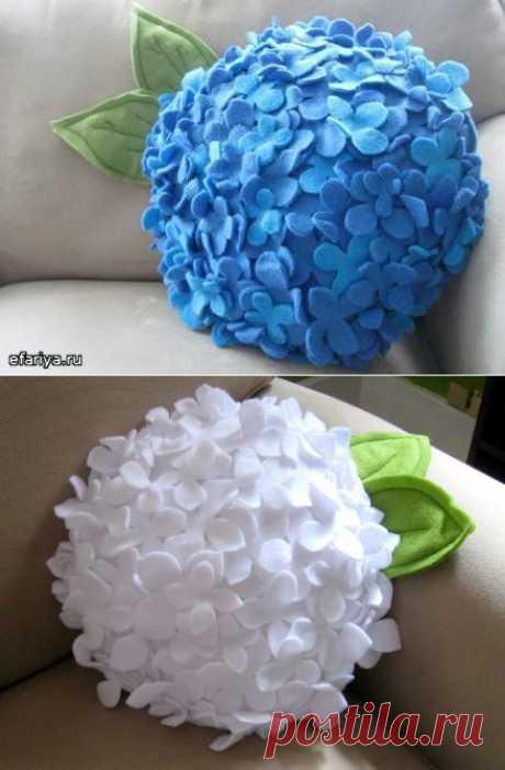 Подушка — цветок | Эфария