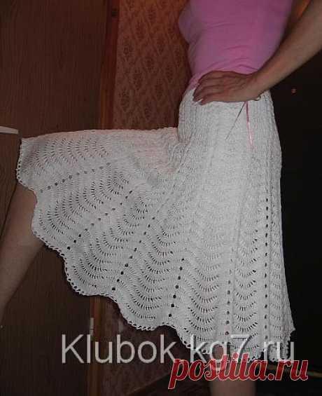 Белая юбка | Клубок
