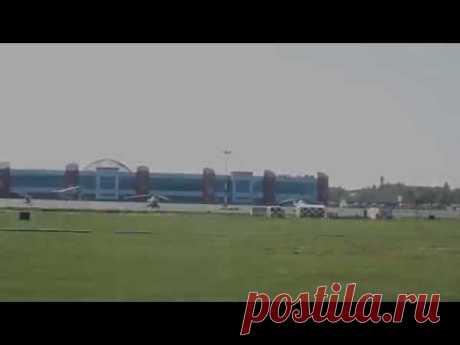 Мягкое приземление аэропорт Храброво г.Калининград - YouTube