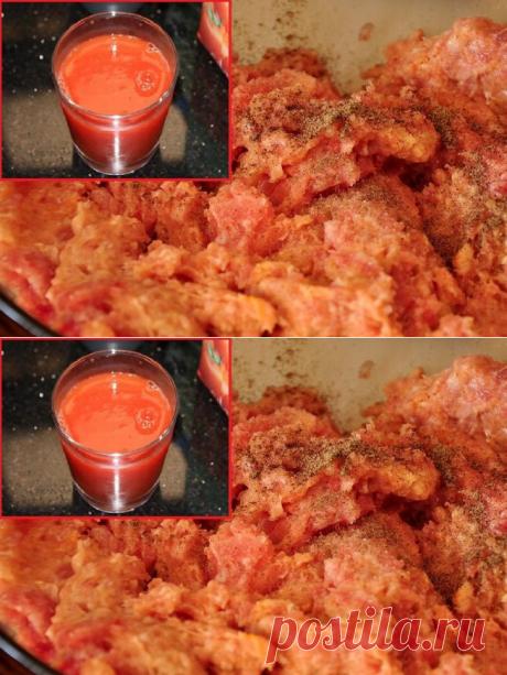 Para que mezclar el picadillo de gallina con el jugo de tomate, y todavía 4 layfhaka del ama experta