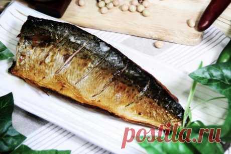 Скумбрия за 3 минуты. Вкуснейшая золотистая рыбка без коптильни и химии!