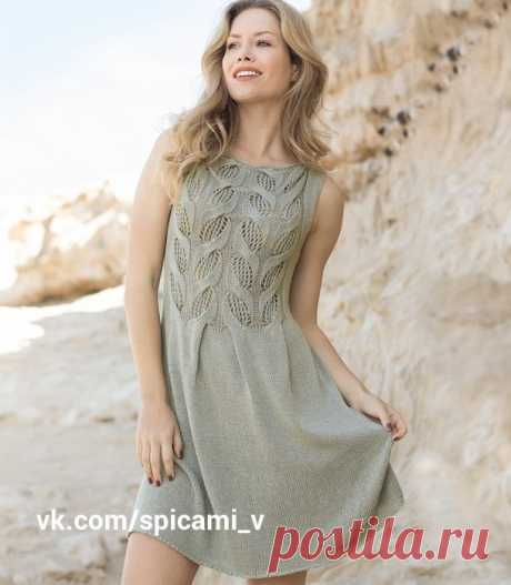 Изысканное летнее платье с ажурными «косами» — Сделай сам, идеи для творчества - DIY Ideas