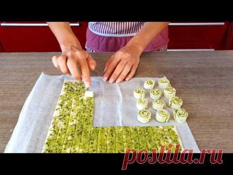 Слоеное тесто| 3 идеи аперитив   \ На кухне с Паолиной