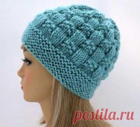 Hat Knitting Pattern Beanie Tam Cloche | Etsy