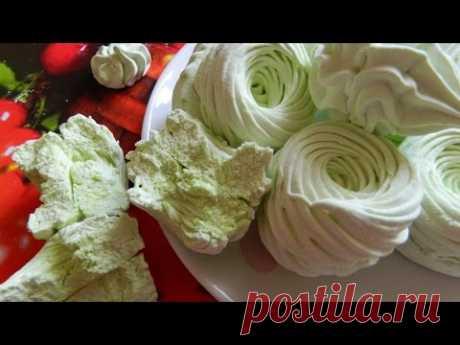 Яблочный зефир/Apple marshmallow