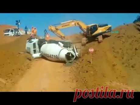 Аварии спецтехники и строительной техники 2018