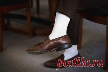 Как отстирать белые носки в домашних условиях — Полезные советы