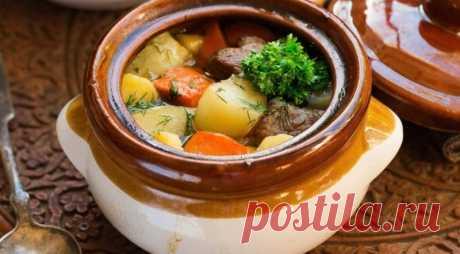 Рагу из свинины с картофелем в горшках — Sloosh – кулинарные рецепты