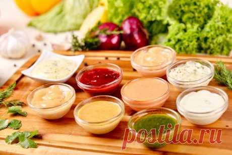 8 соусов, которые, не навредив фигуре, подчеркнут вкус блюд