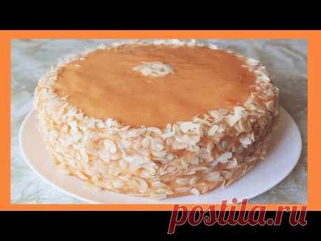 Торт НАСЛАЖДЕНИЕ! Никто НЕ ВЕРИТ, что это рецепт постного и вегетарианского торта - YouTube Попробуйте торт без масла, яиц. Очень вкусно!