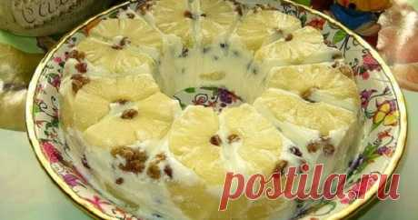 Воздушный творожный десерт «Старая Рига». Готовится проще простого!