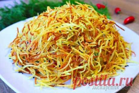 Хрустящий салат Муравейник