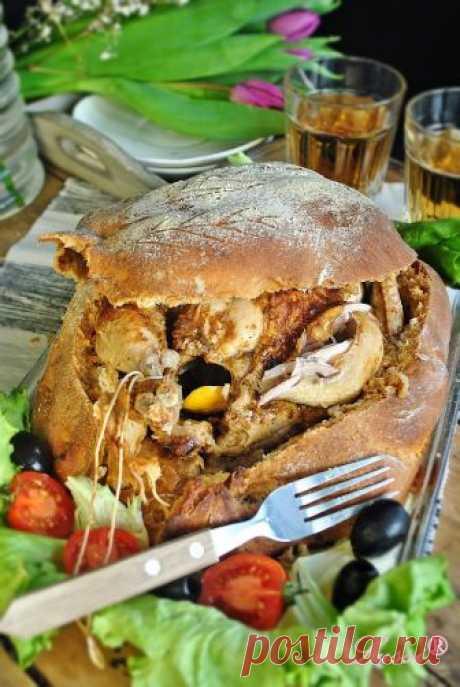 Пиле в хлебна кора / Chicken in a Bread Crust