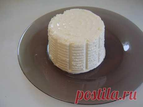 Сыр в микроволновке. Маринкины творинки