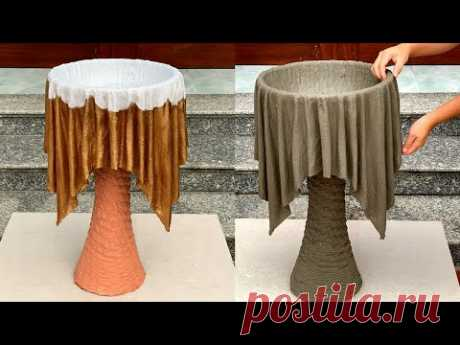 Ideas From Cement and Fabric Are Very Unique - Creative And Simple