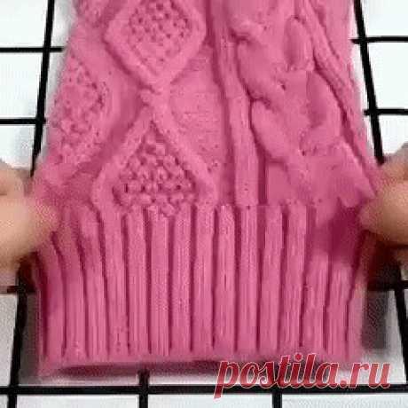 Швейные хитрости со свитером.