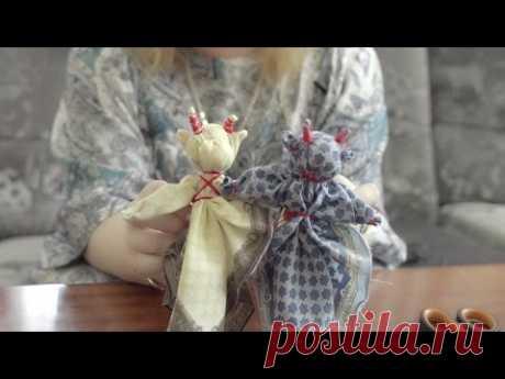 Куколка коровка из носового платка