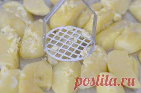 Рецепт самой вкусной печеной картошки / Меню недели