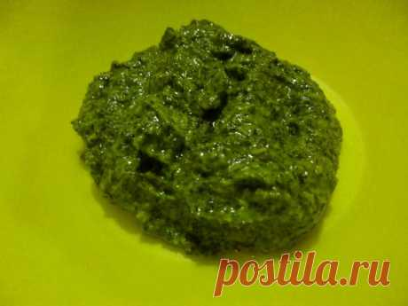 Укропный соус на зиму рецепт с фото - 1000.menu