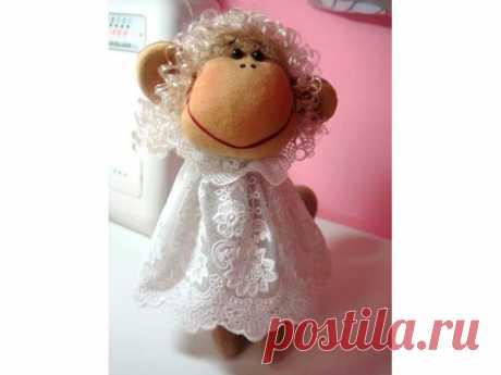 Мастер-класс: текстильная игрушка обезьянка   Высоцкая Life