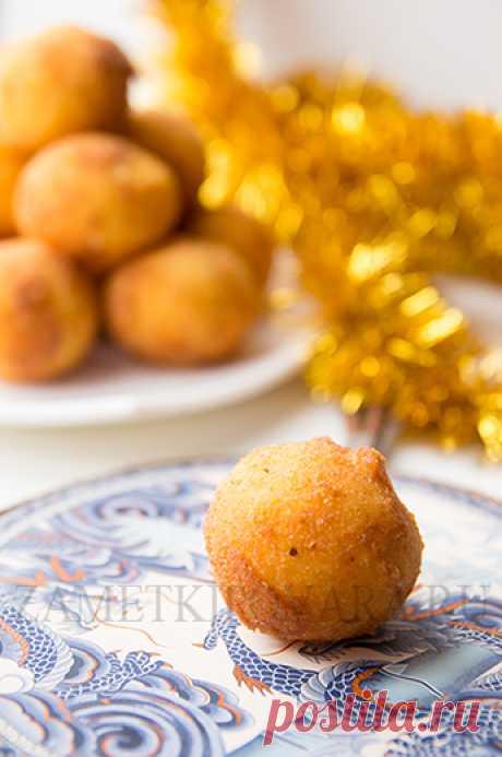 Картофельные шарики.