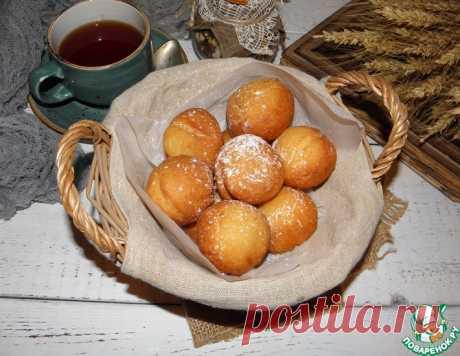 Быстрые пончики из рикотты – кулинарный рецепт