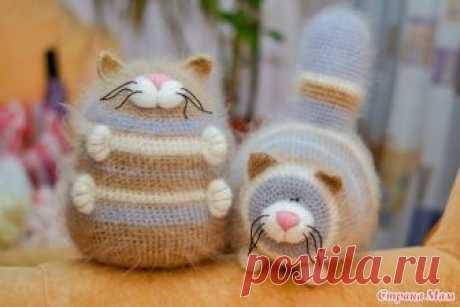 Los gatitos-obzhoriki - la Labor de punto - el País de las Mamás