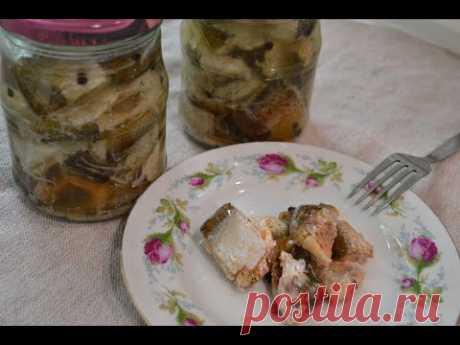 Консервы из рыбы в масле. Очень вкусно!