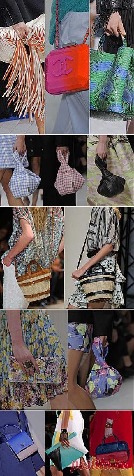 Неделя моды в Париже весна-лето 2014. Самые стильные аксессуары | Умелые ручки