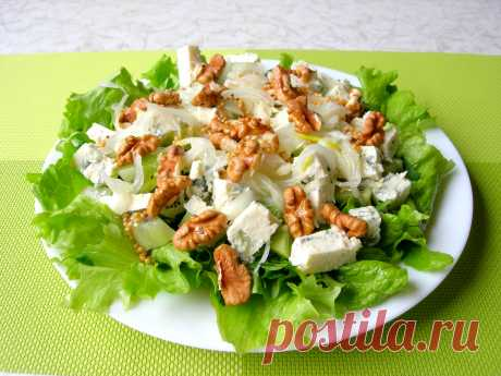 Салат-новинка «Герцогиня» изысканный и свежий вкус! — Кулинарная книга - рецепты с фото