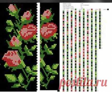 Схема для плетения бисером