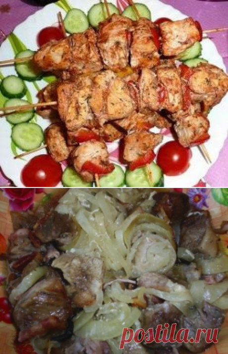 Шашлык в духовке - рецепты с фото. Как приготовить шашлык в духовке из свинины