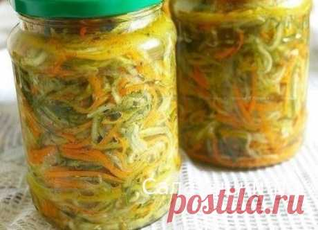Салат » Огурцы по — корейски » на зиму. » Рецепты вкусных салатов