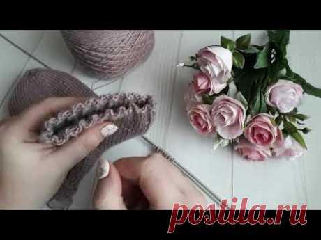 Супер эластичный набор петель / Как набрать петли для эластичной  резинки/ Лучший набор петель