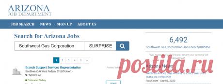 Arizona Job Department - Your Source For Arizona Job Information