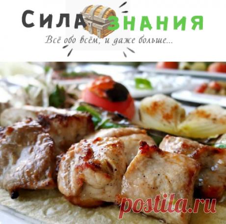 Шашлык из свинины с уксусом и луком + рецепты вкусного маринада, чтобы мясо было мягким и сочным