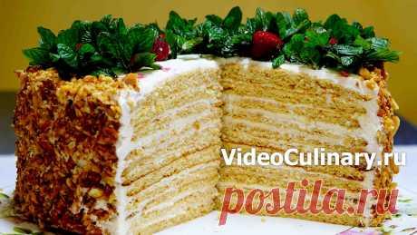Торт Молочная девочка - Рецепт Бабушки Эммы с фото и видео