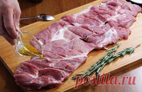 Рецепт настоящего итальянского рулета из свинины Поркетта (Porchetta) |