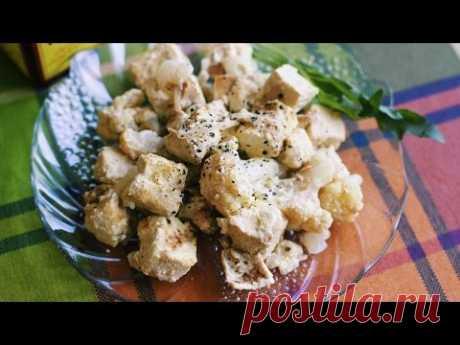 Рецепт : Тофу с цветной капустой  | akelberg