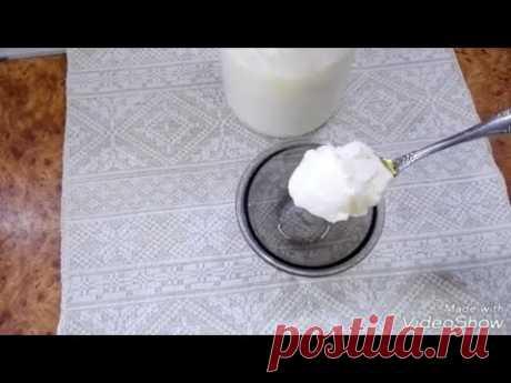 Как сделать вкусный греческий йогурт в домашних условиях/Мацони