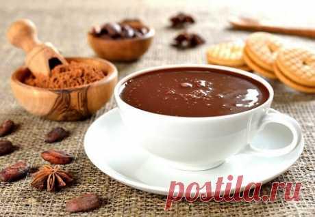 Классический горячий шоколад с необычными вкусами