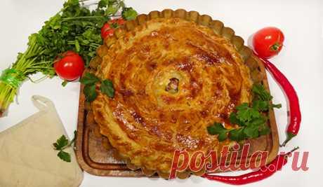 Кубэтэ (Krymchak Meat Pie). Сегодня на столе вкуснейший пирог крымчаков – кубэте.