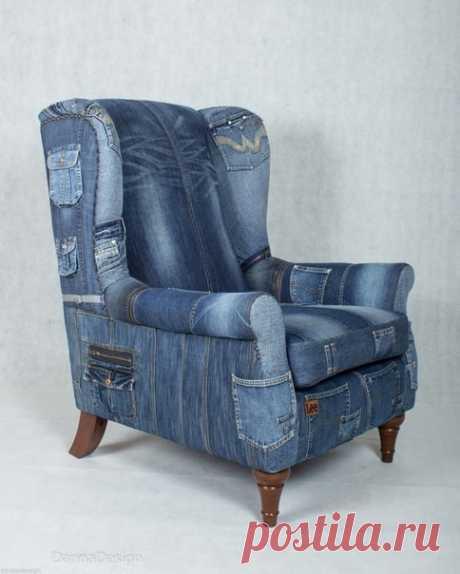 Джинсовые кресла. Идея